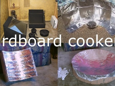 4 DIY Cardboard Cookers! - Solar Box (&Dish) Cooker Compilation! - All Easy DIY's