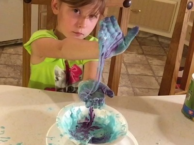 ASMR~How To Make Slime Using 2 Ingredients ????