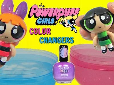 Cartoon Network POWERPUFF GIRLS Toys DIY Do It Yourself Color Change Nail Polish