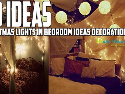 Christmas Lights in Bedroom Ideas Decoration [Daily Decor]
