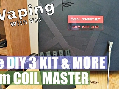Coil Master DIY 3 Kit, Ceramic Stick and Vape Brush - Coil making accessory round up