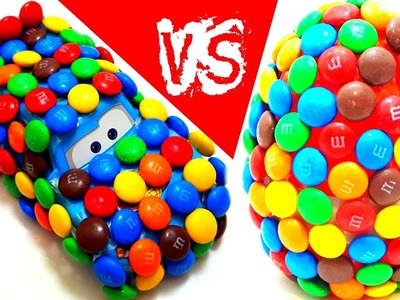 DIY Cars 3 Lightning McQueen Create M&M's Cars 3 Vs DIY Eggs Create M&M's Easter Eggs CHALLENGE DIY