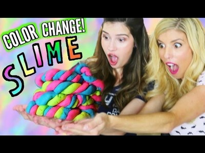 DIY COLOR CHANGING SLIME!!! | How to MAKE the BEST Slime!