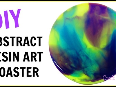 DIY:  How To Make Abstract Resin Art Coasters | Another Coaster Friday | Craft Klatch