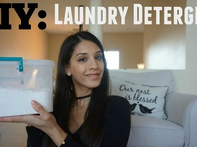DIY: How to make laundry detergent |1 Year worth for $30!
