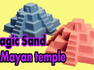 DIY How To Make Pyramid Kinetic Sand - Magic Sand And Toys - NAL Clay