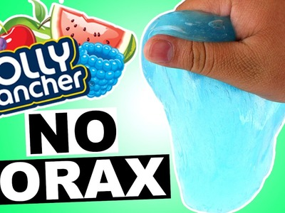 DIY   Jolly Rancher Jiggly Slime - HOW TO MAKE JIGGLY SLIME! HOW TO MAKE SLIME WITHOUT BORAX!!!
