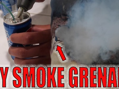 DIY SMOKE GRENADE! (HOW TO)