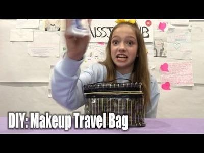 DIY: Travel Makeup Bag