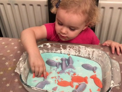 Frozen Oobleck (goop) -  Sensory Play & Easy Science For Kids - Fun activities for Toddlers