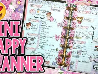 Good Lashes: Plan With Me in my Mini Happy Planner!!   InspiredBlush