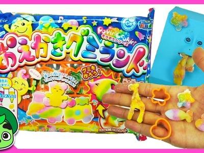 GUAVA JUICE JR DIY Gummy Color Molds and Shapes!