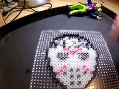 Hama Beads   Jason magnet (Friday the 13th)
