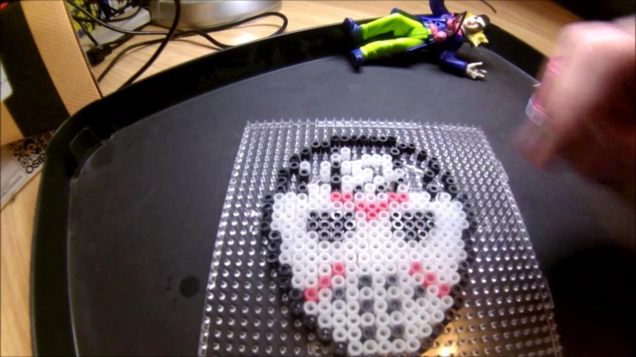 Hama Beads   Jason magnet (Friday the 13th)
