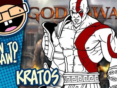 How to Draw KRATOS (God of War) | Narrated Easy Step-by-Step Tutorial