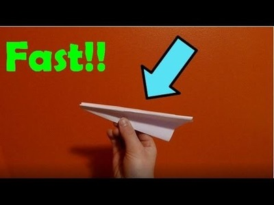 How to Make a EPIC Paper Airplane! (EASY) (Part 9)