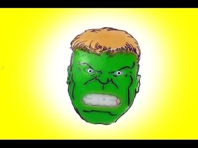 How to Make Hulk 2D Gummy Shape Fun & Easy DIY Superhero Jello Dessert!