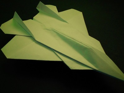 spiraling paper airplane the tail spin fold n fly my
