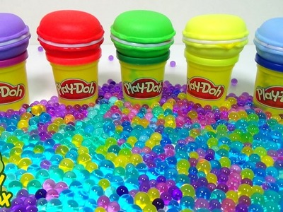 Orbeez DIY Jelly Monster StressBall Surprise Eggs Learn Colors Frozen Balloons Break