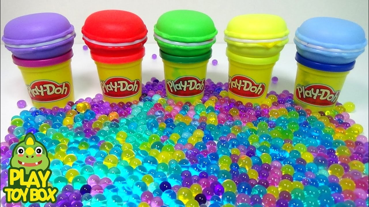 Orbeez DIY Jelly Monster StressBall Surprise Eggs Learn Colors Frozen Balloons Break