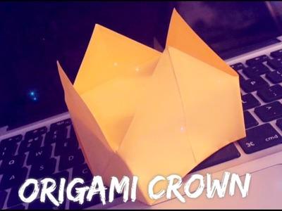 ???? Origami Crown | Easy ????