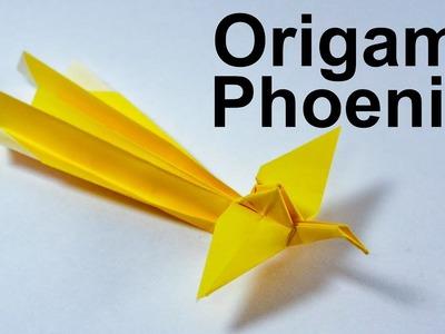 Origami Phoenix Tutorial (Traditional)