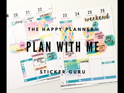 Plan With Me: March 20-26, 2017 {Classic Happy Planner® Style}
