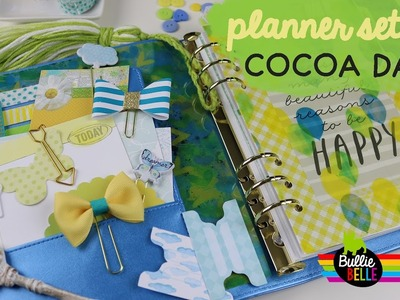 Planner Set-Up and Giveaway - April Cocoa Daisy A5