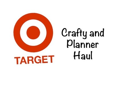 Target Planner & Crafty Haul - Clearance and Dollar Spot!