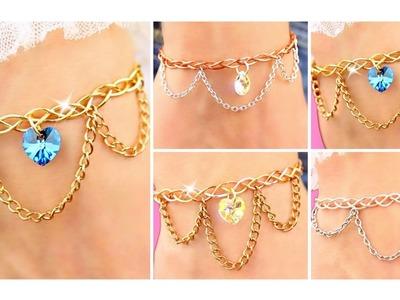 4 DIY Bracelets | Adjustable & NO special TOOLS!! Easy bracelet | DIY Bracelets