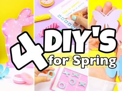 4  DIY Room Decor Ideas-easy crafts for Spring-4 unique DIY Projects