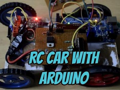 ARDUINO RC CAR CODE WITH RF