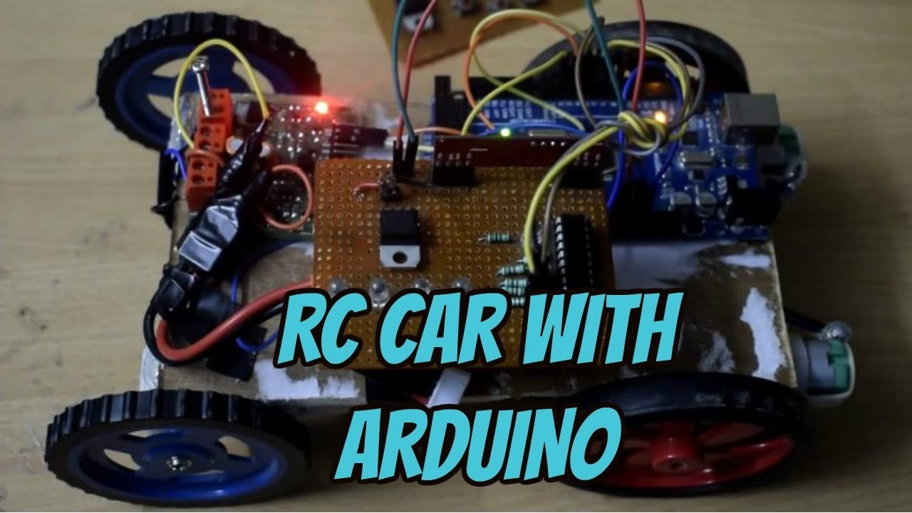 Arduino rc car code with rf my crafts and diy projects