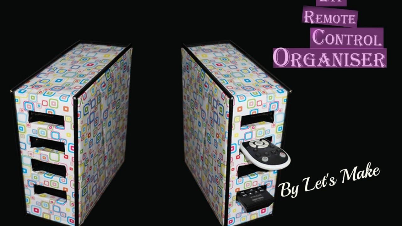 Cardboard Organiser. DIY. Best Out of Waste