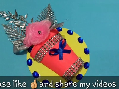 ????✔cd craft ideas || using waste cd || decoration || wall hanging || best out of waste