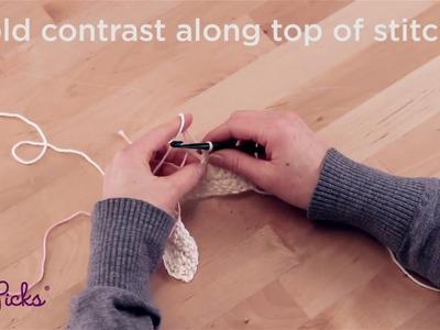 Crochet Colorwork - Carrying Method