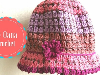 Crochet hat for girls by Oana