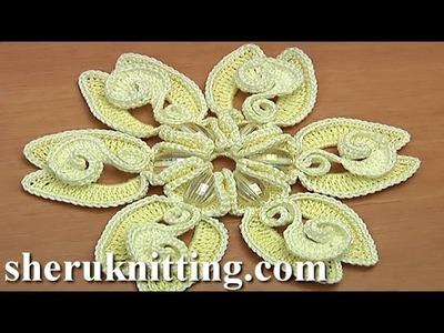 Crochet Large Petal Flower Tutorial 131 Preview