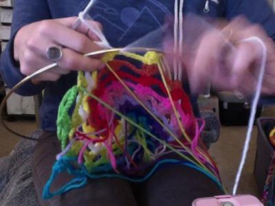 Crochet spiral dream catcher (part 2)
