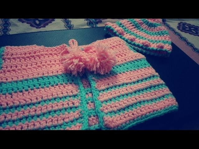 Crochet Sweater Newborn PART 1 ( URDU VERSION )