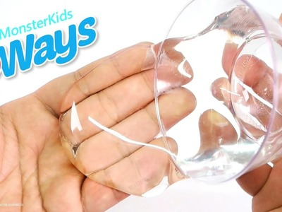 DIY 3 Ways To Make Clear Slime ! How To Make Clear Slime - Liquid Glass Putty