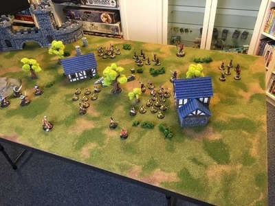 DIY 3x6 Battleboard for Miniature Wargames Using a $35 Door