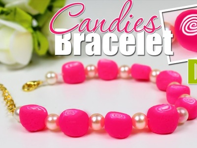 DIY BRACELET ???????? CANDY FRIENDSHIP BRACELET EASY TUTORIAL