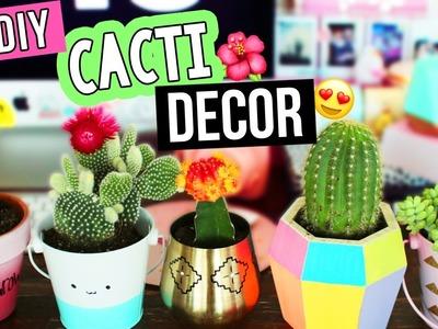 DIY CACTUS.SUCCULENT DECOR