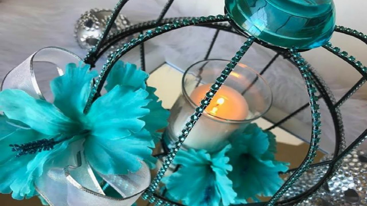 DIY Caged Wedding Centerpiece Idea | Caged Candle Holder DIY