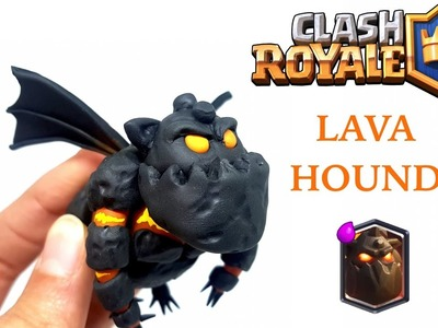 DIY Clash Royale Lava Hound - Polymer clay tutorial