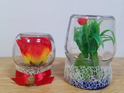 DIY Crafts - Recycling Ideas - How to Reuse Mason Jars for Home Decor + Tutorial !