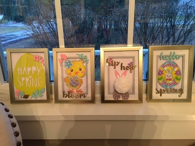 DIY Dollar Tree Easter Frames How-to