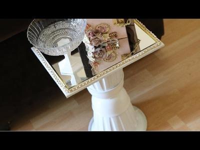 DIY Dollar Tree Mirror table