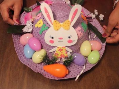 DIY Easter Hat Decoration - 1 | Easter Bonnet Tutorial - 1